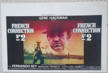 French Connection 2, Original Belgian Film Poster, Gene Hackman, '75